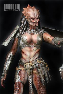Hembras Yautja Predator1