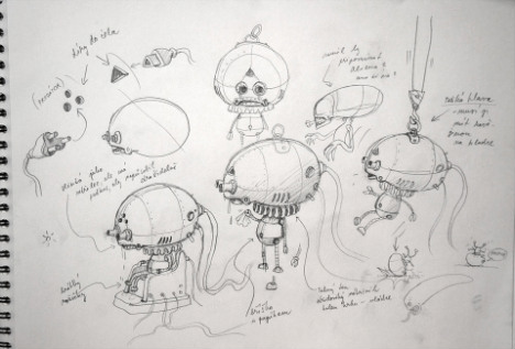Machinarium sketch