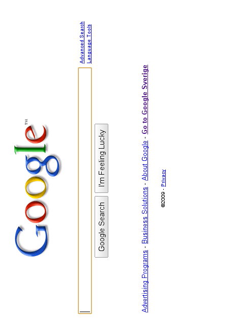 Flipped Google