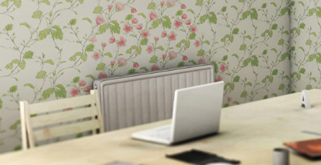 Heat Sensitive Wallpapper - After
