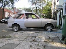Frank zijn Fiesta mkI