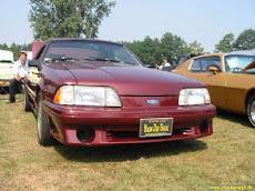 Ben zijn Mustang