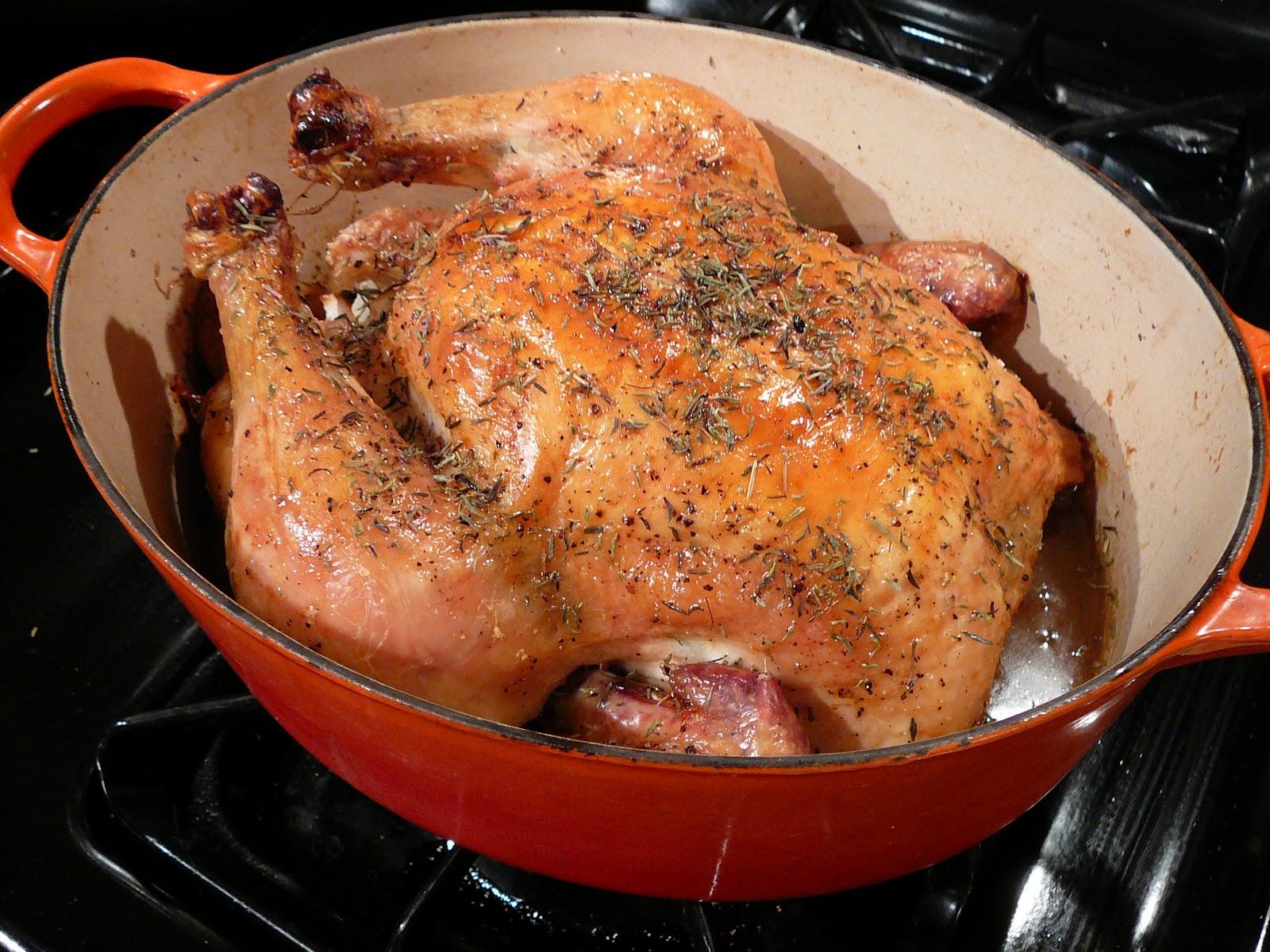 Bentobloggy: Mon Poulet Rôti (aka, the Best Roast Chicken EVER)