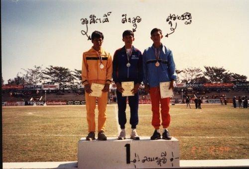 กีฬาแห่งชาติ อันดับที่ 2 เขย่งก้าวกระโดด ลพบุรี