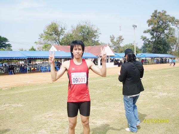 แชมป์ วิ่ง 100 , 200  เมตรชาย