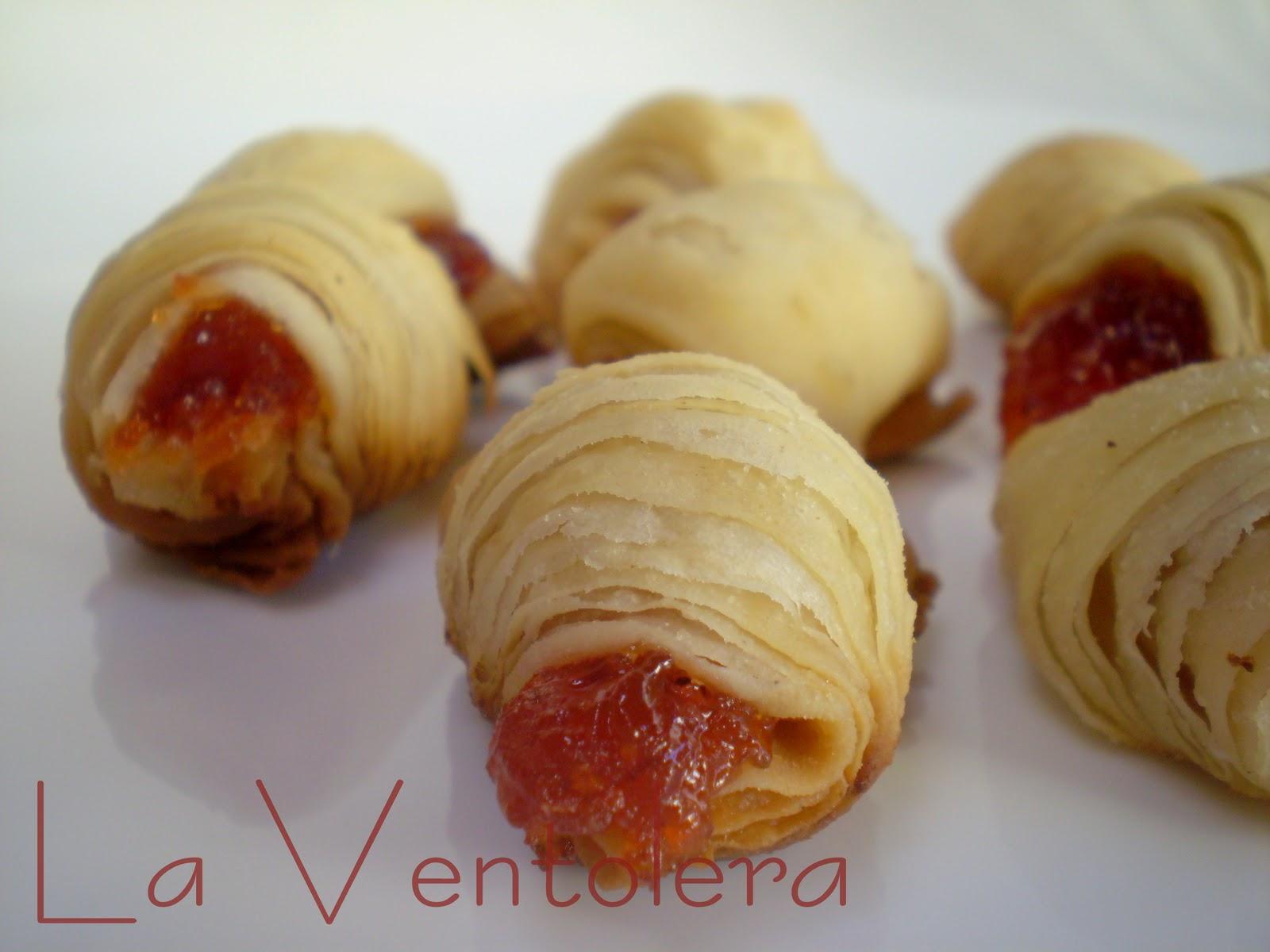 La ventolera bocaditos de hojaldre con dulce de membrillo - Como preparar membrillo ...