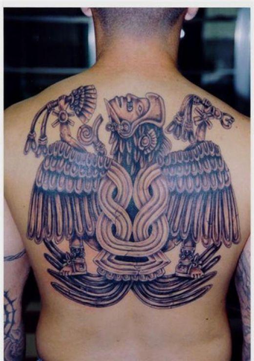 aztec warrior tattoos. Warrior Angel Tattoos Great fantasy warrior tattoo