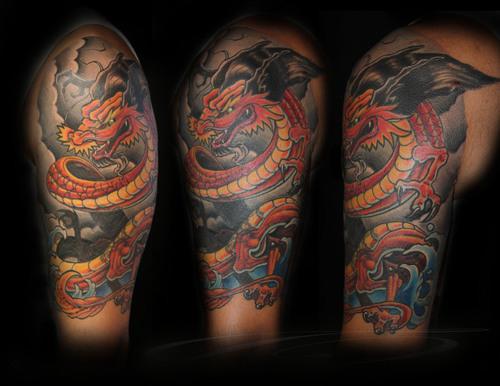 cute dragon tattoos for women. and cute dragon tattoos,