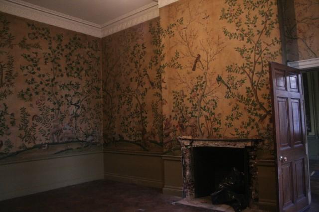 wallpaper room. The Blenheim Suite: The finer