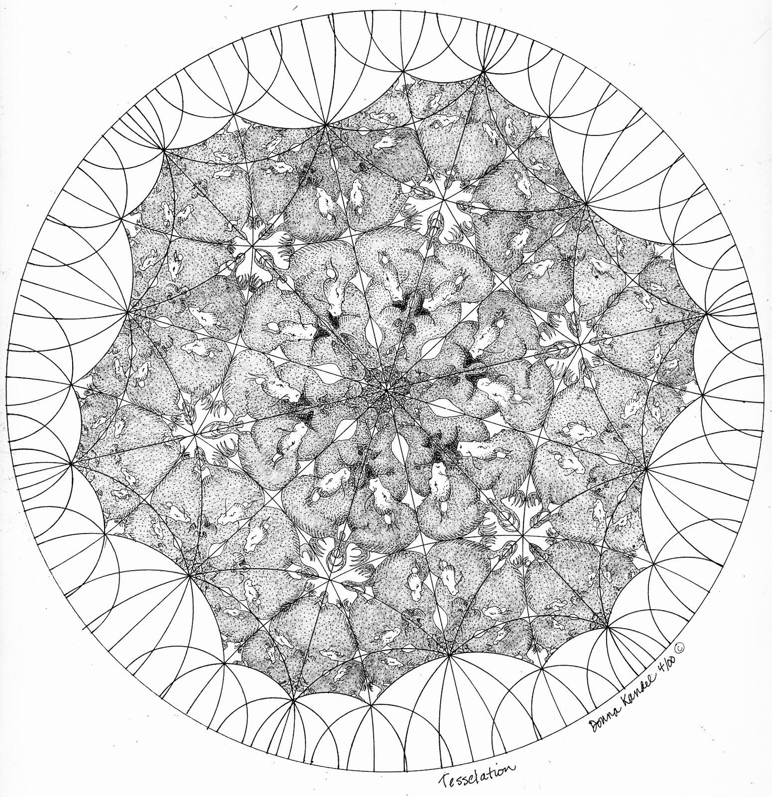 Donna Kandel: Dragon Tessellation