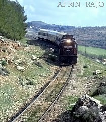 Railway in Kurd-Mountains, AFRIN