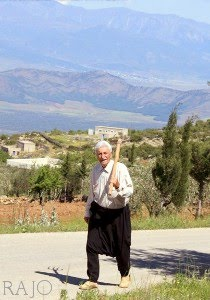 A kurdish villager in RAJO