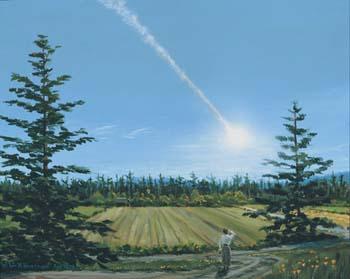Tunguska Tunguska-pintura