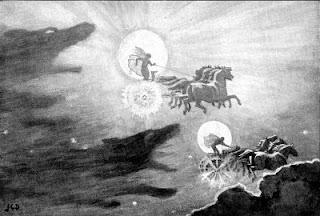 Sol y Luna mitología nórdica