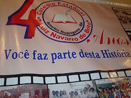 Nossa homenagem aos 40anos do Navarro de Brito