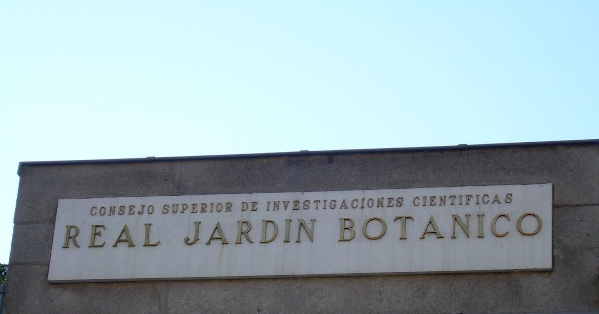 Visita al real jard n bot nico de madrid for Biblioteca digital real jardin botanico