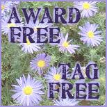 Thankyou - but accepting no more awards!
