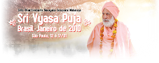 Sri Vyasa Puja 2010 no Brasil