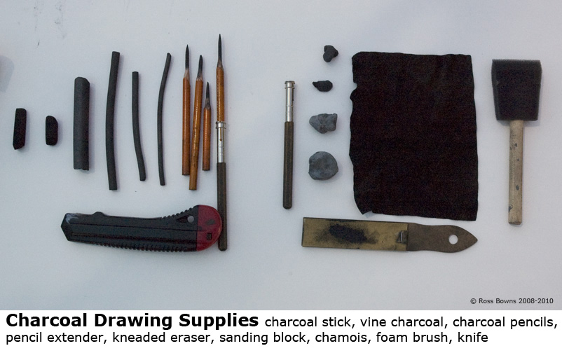 Paint draw paint learn to draw some ideas on charcoal drawing materials