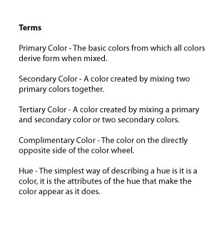 As You Can See Above The Color Wheel Is Arranged In A Way Where Colors Similar To Each Other Sit Next On