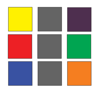 Paintxdraw ross bown 39 s notes on complementary colors - What color complements purple ...