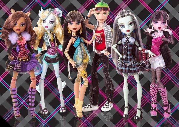 Nube de mariposa: Monster High: Divinas de la muerte