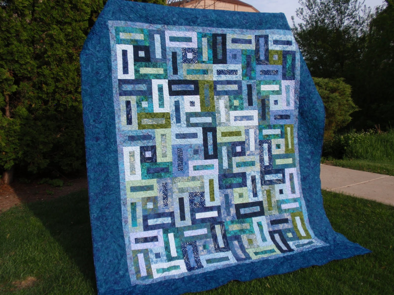 Mussergirl Quilts Keyhole Quilt