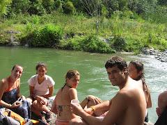 Un bany al riu