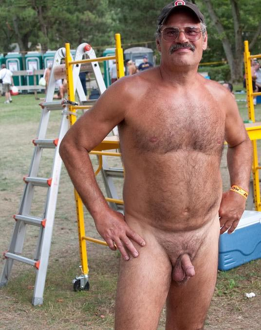Naked Hairy Older Men