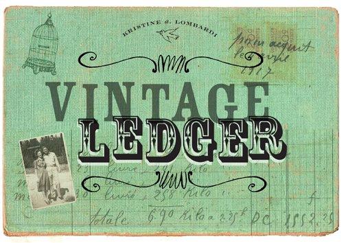 vintage ledger