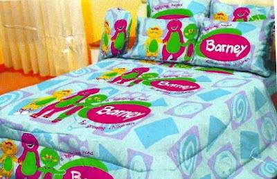 Barney And Friends Crib Bedding