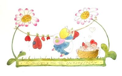 The Laundry Fairy Valentine