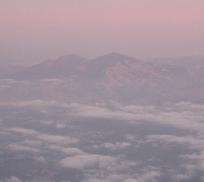 Mt. Diablo from the air