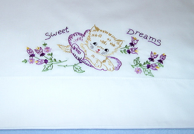 HOW TO EMBROIDER A PILLOWCASE  Embroidery Designs