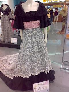 Modern Filipiniana Dress