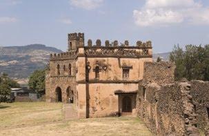 Ruinas de Gondar, ciudad al Norte del Lago Tana