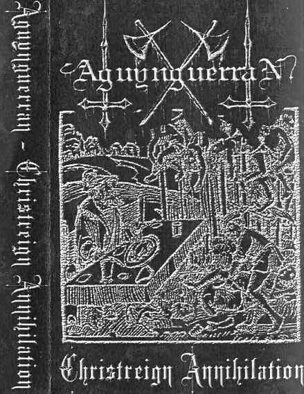 Aguynguerran - Christreign Annihilation. Ringworm - Madness of War