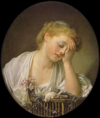 Greuze+ +Girl+Mourning+Dead+Bird