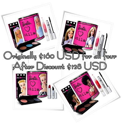 stila+barbie+sale