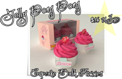 jelly+pong+pong+cupcake+bath+fizzies