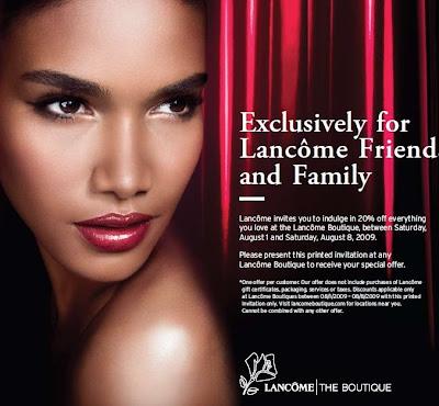 lancome+coupon