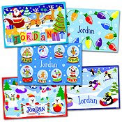 Olive Kids Personalized Placemats