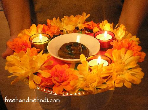 Mehndi Plates Uk : Hand decorated matki and mehndi pot. see www.facebook.com
