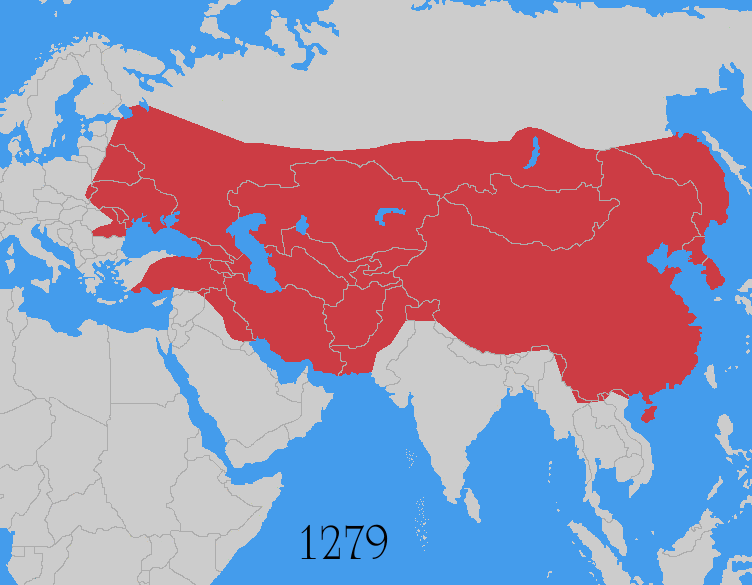 This is Genghis Khan's Empire