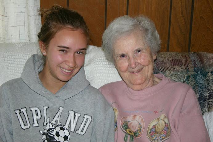 My Precious Daughter & her grandma
