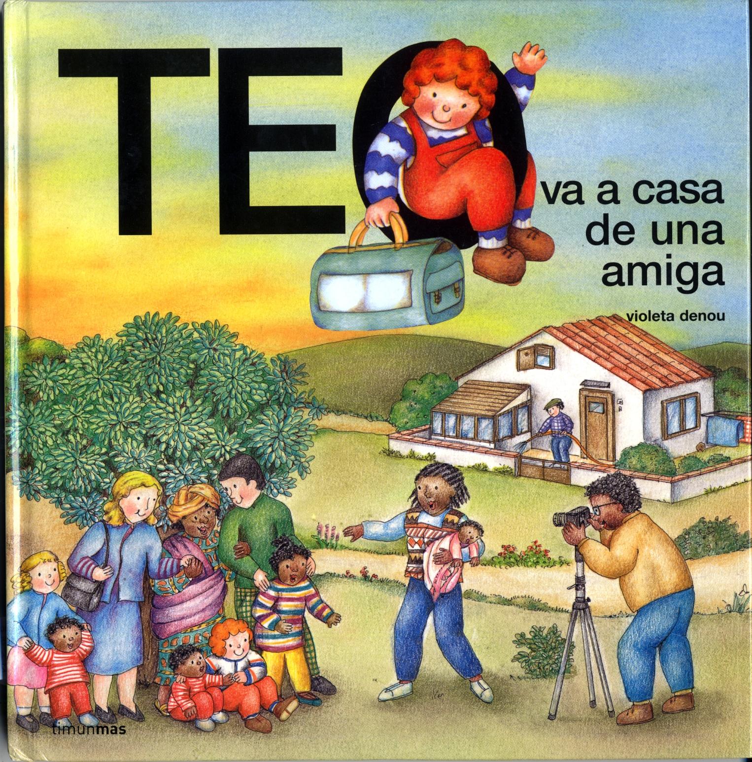 ABC de nombres Teo_va_a_casa_de_una_amiga