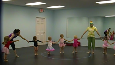 charlotte dance class for toddlers