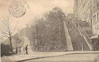 HAUT DE LA RUE MULLER (Escalier de la rue Maurice Utrillo)