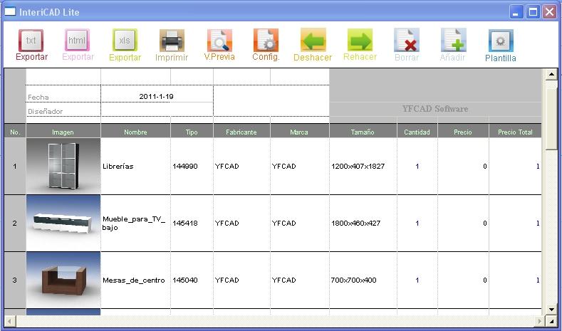 Gargon3d intericad lite 3d para interiores Diseno de interiores 3d data becker windows 7