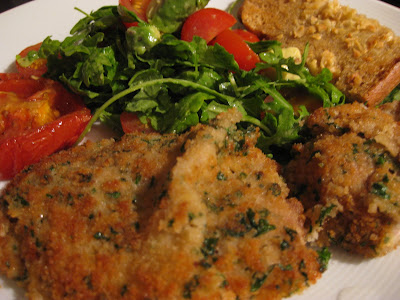 Veal Scallopini Milanese Recipes — Dishmaps